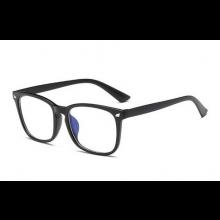 Computer bril tegen straling Blue rays computerbril retro design zwart Unisex / HaverCo