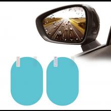 Spiegel nano film anti-druppel Rainproof film 2x voor spiegels van de auto / HaverCo