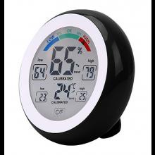 Digitale Thermometer Hygrometer Vochtigheid en comfort indicatie Zwart / HaverCo