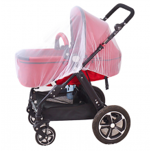 Muggennet Klamboe voor kinderwagen tegen muggen / Wit / HaverCo