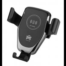 Telefoonhouder in de auto met Qi laadstation oplader autohouder Dock verstelbaar / HaverCo
