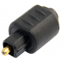 Toslink adapter 3.5mm female TOSLINK naar male TOSLINK aansluiting / HaverCo