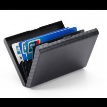 Carbon betaalpas houder doosje / Creditcards Pinpassen / Carbon look kunststof / HaverCo