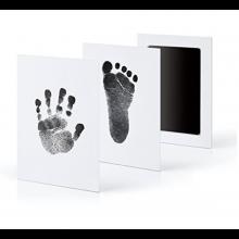 Baby voet of hand afdruk maken Giftset souvenier Babyhand of Babyvoet / HaverCo