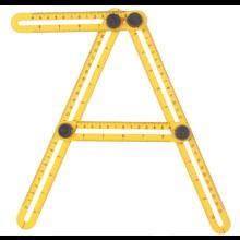 Hoekmeter lineaal Multi angle hoek meter Multihoeklineaal / HaverCo
