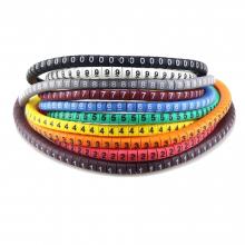 Nummering voor kabels en draden bedrading Nummers tags Wire Markers 500 stuks / HaverCo