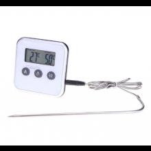 Temperatuurmeter Thermometer met LCD scherm en sensor voor in de keuken Koken 0-250 ℃ / HaverCo