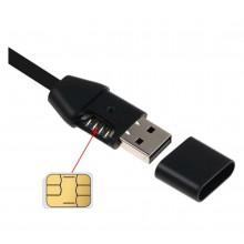 GPS tracker verborgen in telefoonkabel met lightning aansluiting Incognito tracker / HaverCo