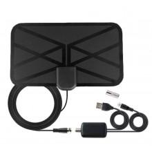 DVB-T2 antenne met ingebouwde versterker op USB-voeding en COAX aansluiting / HaverCo
