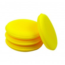 12x Wax spons applicator pad Foam 10cm diameter / HaverCo