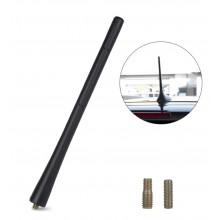 Antenne auto 20cm Autoantenne flexibel Zwart met M5 M6 aansluiting / HaverCo
