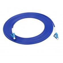 Optische kabel Fiber Optic cable 300cm lengte Patch cord kabel LC UPC FTTH Single Mode Simplex Fiber / HaverCo