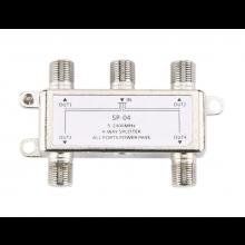 COAX kabel splitter / 5-2400MHz 4 Way HD voor SATV en CATV / HaverCo