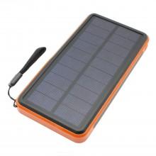 SIMICO S5 Solar powerbank 16.000 mAh met Type-C aansluiting op zonne-energie