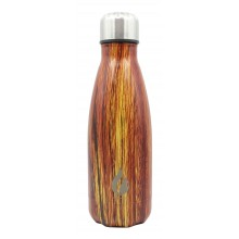 Waterfles 350ml RVS / Wood collection Ember / Thermofles Thermokan Isoleerfles / HaverCo