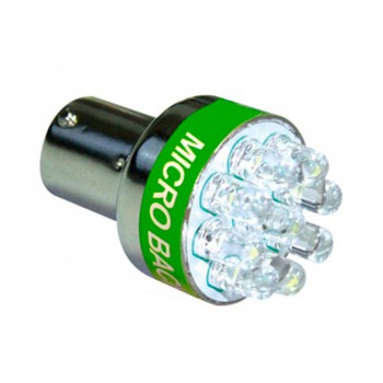 Achteruitrijlicht lamp met geluidsignaal BeeP BeeP buzzer / Fitting BA15S P21W 1156 7506 3497 / 9x LED / HaverCo